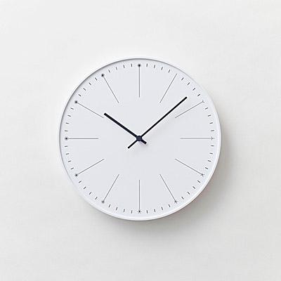 ROUND-WHITE-CLOCK